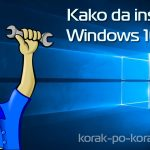 kako instalirati windows 10